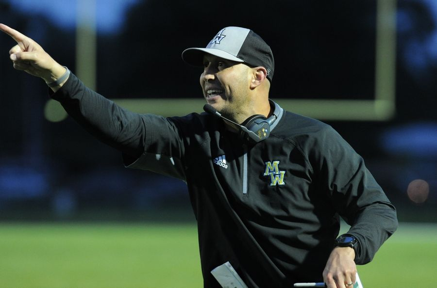 Jason Kradman is leaving the football job at Maine West to take over at Lake Park.