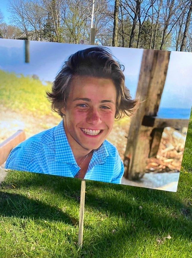 COURTESY OF PATRICK SHARPEFormer Warren football player Tate Hankla, 19, died in his sleep earlier this month and his tight-knit group of friends as well as a large segment of the Warren community has been reeling with grief.