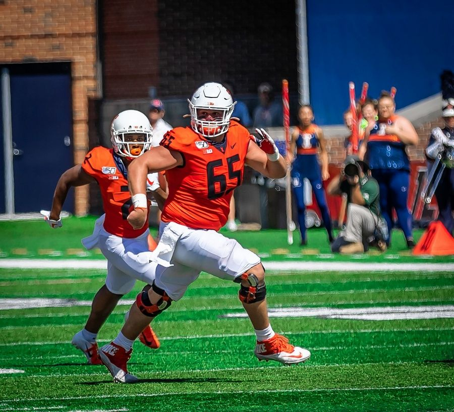 Hinsdale Central graduate Doug Kramer is returning next week to Champaign to begin training for the upcoming football season with the University of Illinois.