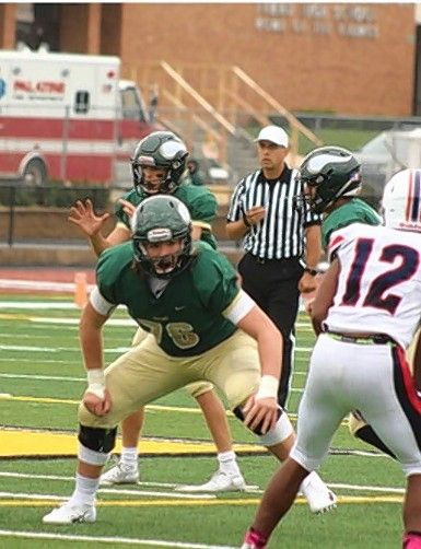 Fremd offensive lineman Jack Walsh has committed to the University of Wyoming.